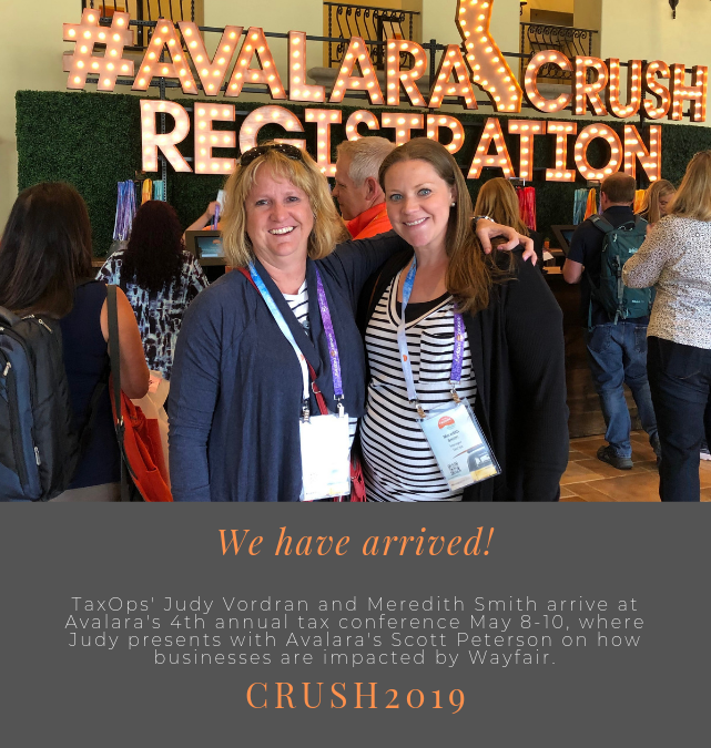 We have arrived–CRUSH2019!