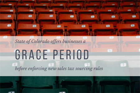 Colorado DOR offers businesses a grace period before enforcing eSales collections