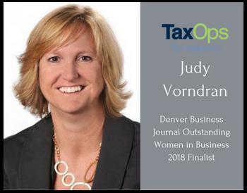 Judy Vorndran named a 2018 Outstanding Women in Business finalist