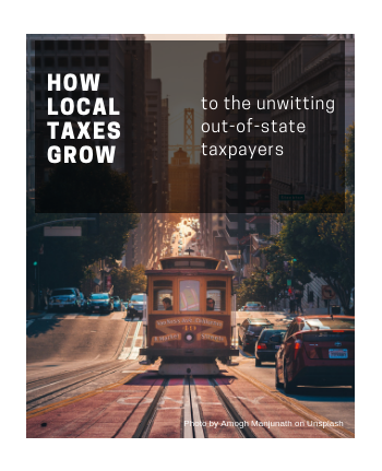 How local taxes grow to the unwitting out-of-state taxpayers