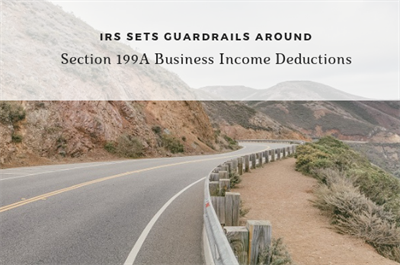 IRS sets guardrails around pass-through business income deductions