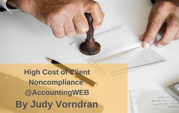 The High Cost of Client Noncompliance