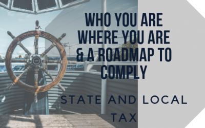 Who you are, where you are and how you and your clients can comply