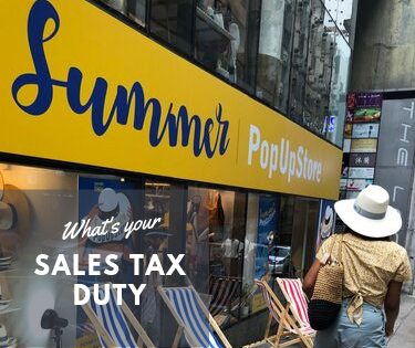 Pop up shops and nexus: Where do you owe sales tax and when?