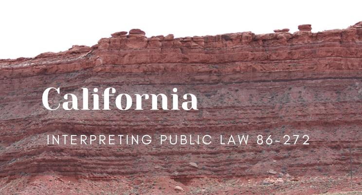Interpreting Public Law 86-272 in California