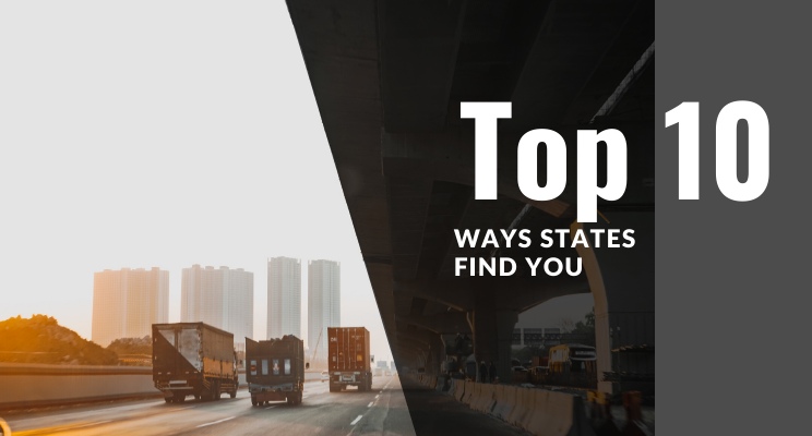 Top 10 Ways States Find You
