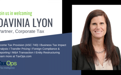 Welcoming Davinia Lyon as Partner of Corporate Tax