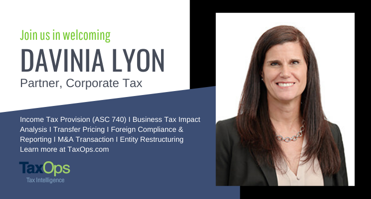 Welcoming Davinia Lyon as Partner of Corporate Tax