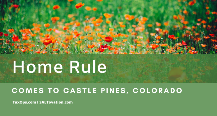 Home Rule in Castle Pines a Bumpy Transition