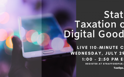 State Taxation of Digital Goods and Services CPE