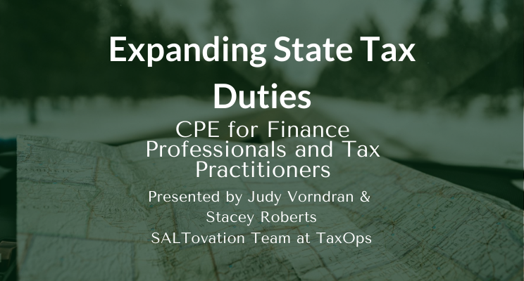 Expanding State Tax Duties for Businesses: Sales and Income Tax, Navigating New State Compliance Challenges