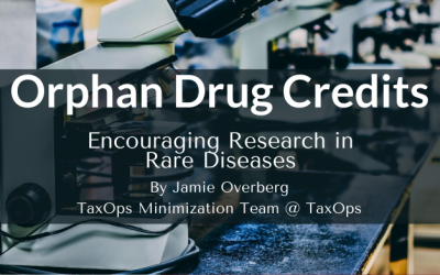 Orphan Drug Credits: Encouraging Research in Rare Diseases