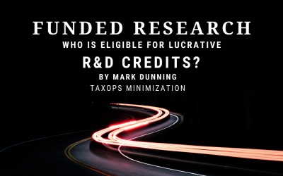 Funded Research: Follow the Money to R&D Credits