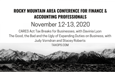 Register now for TaxOps CPE at RMAC Conference