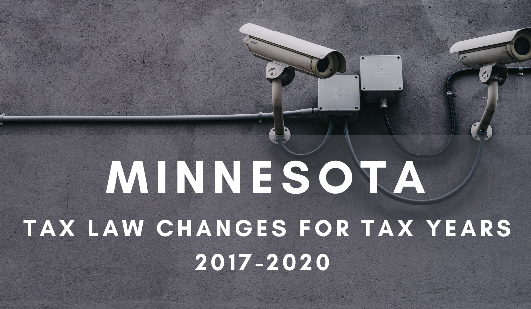 Minnesota Retroactive Like-kind Exchange and Expensing Conformity