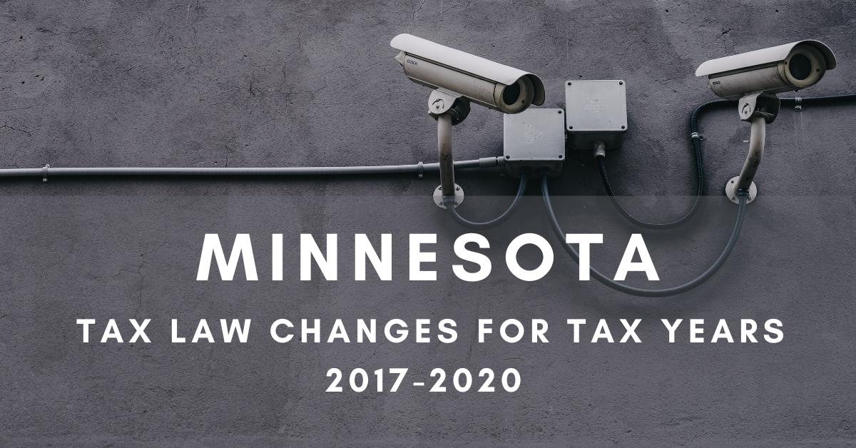 Minnesota Retroactive Like-kind Exchange and Expensing Conformity