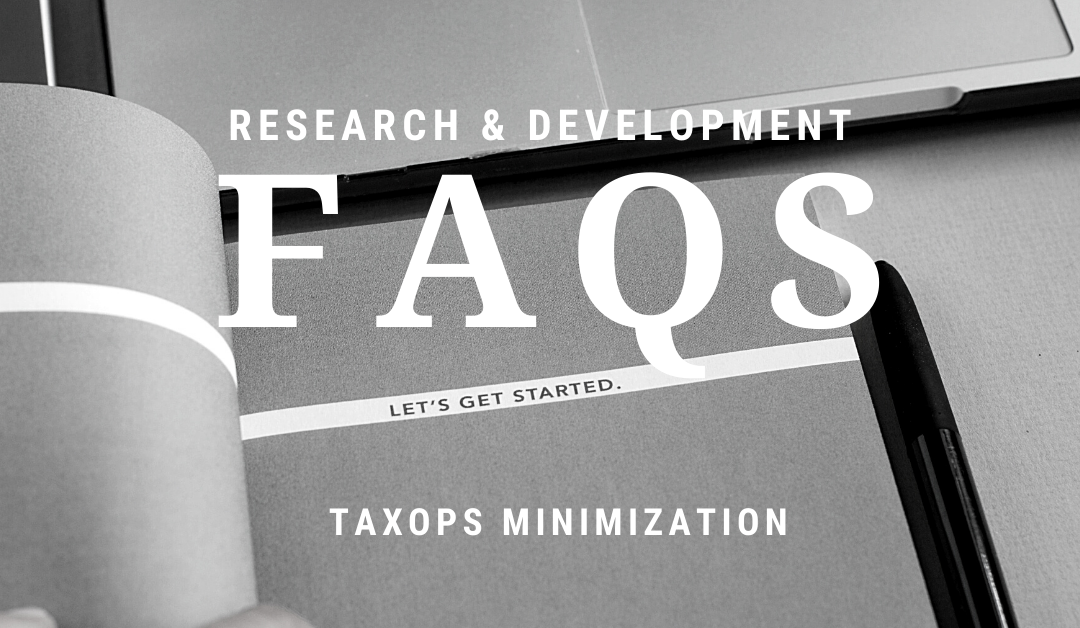 FAQs: Getting Started with Research Credits