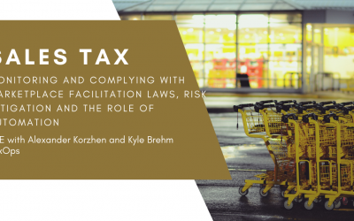 Sales Tax CLE: Marketplace Facilitation Laws, Risk Mitigation and Automation