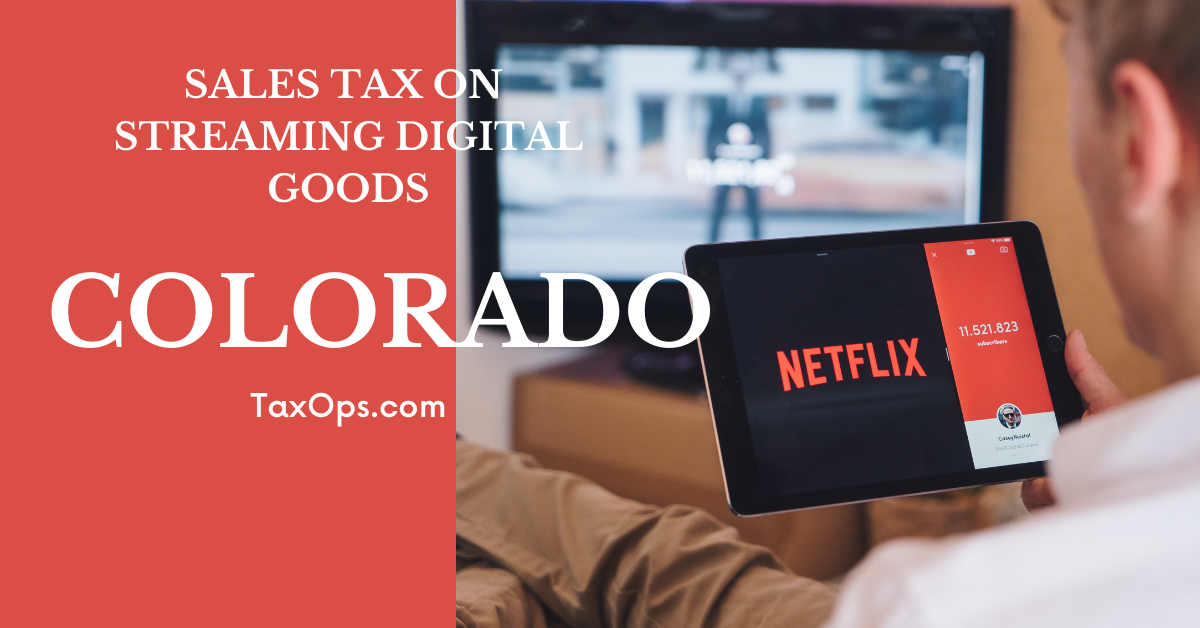 Taxing Netflix, Disney+ Subscriber Fees in Colorado by End of Month