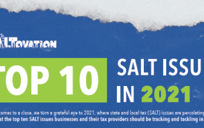 Top 10 State and Local Tax Issues in 2021