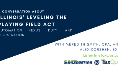 A Conversation About Illinois' New Leveling the Playing Field Act