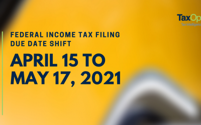 Federal Tax Day for Individuals Shifts to May 17