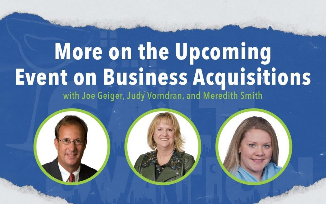 Sales and Use Tax Implications of Business Acquisitions with Joe Geiger