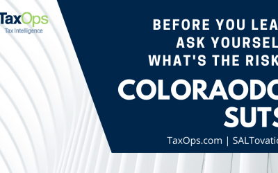 Colorado Sales and Use Tax System: Assess Risk Before Signing On