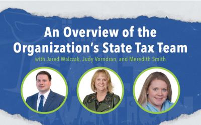 The Tax Foundation With Jared Walczak