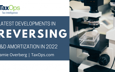 Will Congress Support U.S. Innovation by Reversing R&D Amortization in 2022?