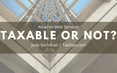 Amazon Web Services – Taxable or Not – in Colorado?
