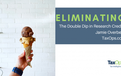 """Eliminating the """"Double-Dip"""" in Employee Retention and Research Credits"""