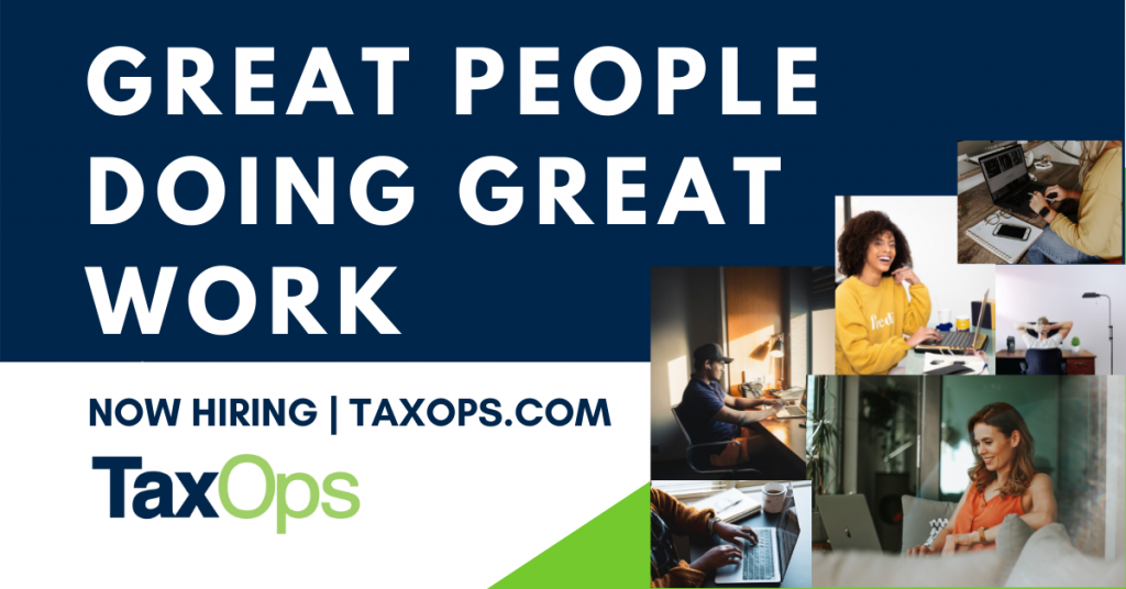 Hiring Tax Senior State and Local Tax