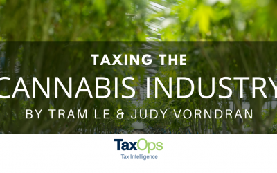 Taxing the Cannabis Industry: State and Local Tax Implications