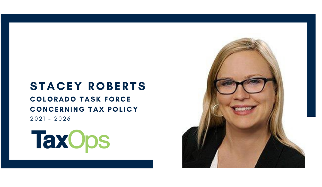 Stacey Roberts Selected for Legislative Tax Policy Task Force