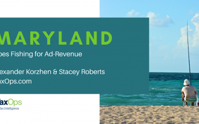 Maryland's Ad-tax: Going Fishing for Revenue?