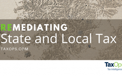 Remediating State and Local Tax